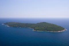 Die Insel von Lokrum Stockbilder