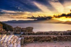 Die Insel von Milos lizenzfreie stockfotos
