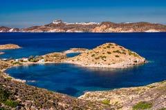 Die Insel von Milos lizenzfreies stockfoto