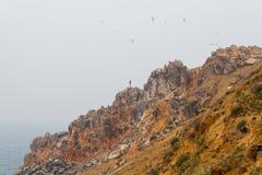 Die Insel von Olkhon auf dem Baikalsee Stockbild