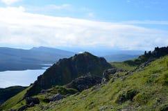 Die Insel von Skye Highland Views lizenzfreie stockbilder