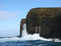 Die Insel von Staffa Lizenzfreies Stockbild