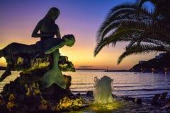 Die Insel von Syros stockfotos