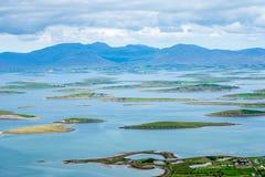 Die Inseln der Schlaufen-Bucht Co mayo Lizenzfreies Stockbild
