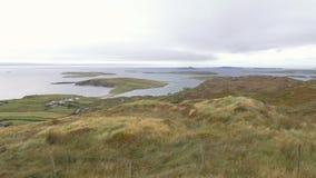 Die Inseln von Connemara, Irland stock video
