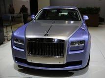 Rolls Royce stellte an der New- YorkAutomobilausstellung zur Schau Stockfotografie