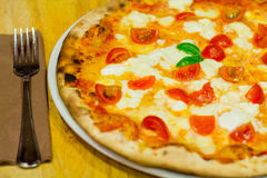 Die italienische Pizza Stockfoto