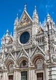 Die italienische Stadt von Siena ist der ewige Rivale von Florenz lizenzfreie stockfotografie