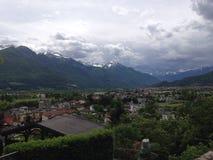 Die italienischen Alpen Stockfotografie
