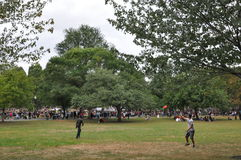Die 25. jährliche Boston-Freiheits-Sammlung im Jahre 2014 Stockbild