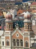 Die jüdische Synagoge Lizenzfreies Stockbild