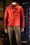 Die Jacke und das Denim der Männer Stockbild