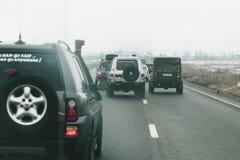 Die Jahresversammlung von den Inhabern nicht für den Straßenverkehr Stockbild