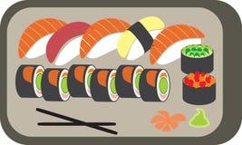 Die japanische Mahlzeit Stockfotografie