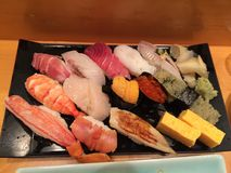 Die japanische Mahlzeit Lizenzfreie Stockbilder