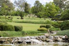 Die japanischen Gärten Stockbild