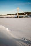Die Jatkankynttila-Brücke Lizenzfreie Stockfotografie