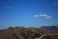 die jinshanling Chinesische Mauer Lizenzfreie Stockbilder