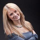 Die junge Blondine Stockbild