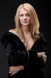 Die junge Blondine Stockbilder