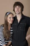 Die jungen Paare Stockfotografie
