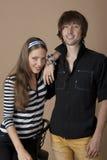 Die jungen Paare Lizenzfreie Stockfotos