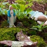 Die Jungfrau Mary& x27; s-Garten Stockbild