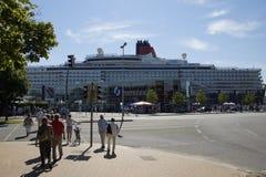 Die Königin in Kiel Stockfotos