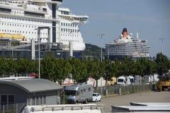 Die Königin in Kiel Lizenzfreies Stockfoto