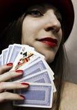 Die Königin von Spaten Lizenzfreie Stockfotografie