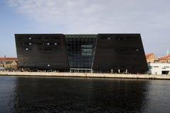 Die königliche Bibliothek in Kopenhagen Stockbild