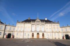 Die königliche Couple's-Winterresidenz Amalienborg in Kopenhagen, Dänemark lizenzfreie stockbilder