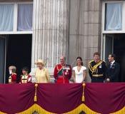 Die königliche Hochzeit in London Lizenzfreie Stockfotografie