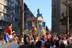 Die königliche Jungfrau in Sevilla Lizenzfreie Stockfotos