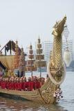 Die königliche Lastkahn-Prozession stockfotografie