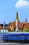 Die königliche Verbrennung-Zeremonie, BANGKOK, THAILAND Stockfotos