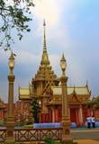Die königliche Verbrennung-Zeremonie, BANGKOK, THAILAND lizenzfreie stockfotografie