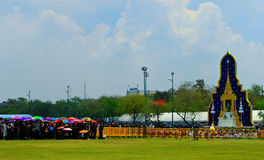 Die königliche Verbrennung-Zeremonie, BANGKOK, THAILAND lizenzfreies stockbild