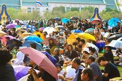 Die königliche Verbrennung-Zeremonie, BANGKOK, THAILAND Stockbilder