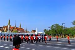 Die königliche Verbrennung-Zeremonie, BANGKOK, THAILAND Lizenzfreies Stockfoto