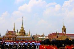Die königliche Verbrennung-Zeremonie, BANGKOK, THAILAND stockbild