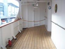 Die königliche Yacht Britannia, a muss Touristenattraktion sehen, wenn sie Edinburgh, Schottland besichtigt stockfotografie