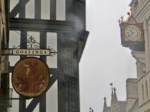 Die Königshöfe von Gerechtigkeit, London Lizenzfreie Stockfotografie