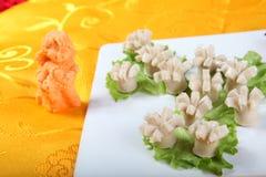 Die köstliche Lebensmittel-gelbe Seide Lizenzfreie Stockfotografie