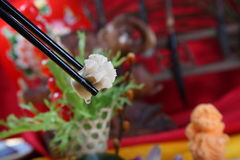Die köstliche Lebensmittelfleischblume Lizenzfreie Stockfotografie