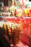 Die köstlichen Süßigkeiten Stockfotos