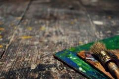 Die Künstler ` s Werkstatt ausführlich lizenzfreie stockbilder