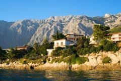 Die Küste in Promajna lizenzfreies stockfoto