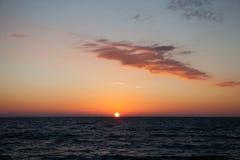 Die Küste Schwarzen Meers in Adler Lizenzfreies Stockfoto