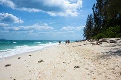 Die Küste von Andaman-Meer Lizenzfreies Stockfoto